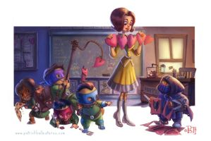 Teacher's Pets by patrickballesteros