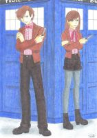 Eleventh Doctors by GreenArcherAlchemist