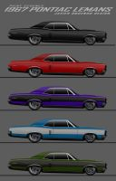 1967 Pontiac LeMans by javieroquendodesign