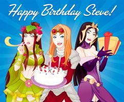 MTG | Happy Birthday Steve Argyle! | Tumblr by PolishTamales