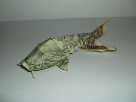 origami koi fish (won park) by Tuftedduck