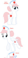 Nurse Redheart - All Pony Races by Pupster0071