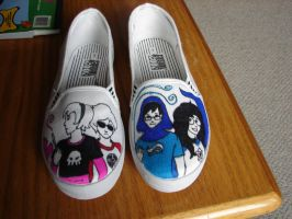 Homestuck shoes by mcknck
