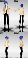 MMD Bad End Night Kaito Model DOWNLOAD by ChiharuYuuka