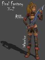 FFX-2 Rikku the Warrior by Frozen-Knight