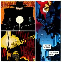 The Shadow Influences on Batman by StevenEly