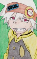 Soul Eater Evans by ChristineMW