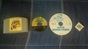 Paper Mario Series by PxlCobit