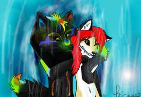 Under water with Rave wolf by Hicane