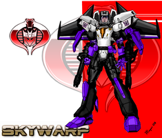 Skywarp, Cyborg-Face Shield by skywarp-2