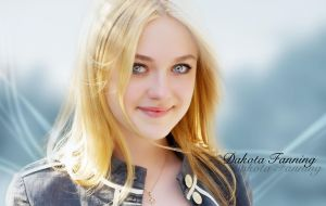 Dakota Fanning by cmgllp