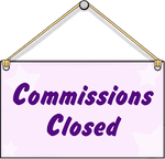 Commission Sign Closed by Veronyak