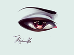 Anime Eye by MetisVin