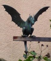 Dragon Statue 2 by Fea-Fanuilos-Stock