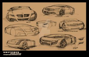 Concepts Sketches by ShadyDesigns