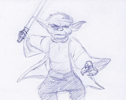 Yoda Quickie by Count-Archek-Brauer