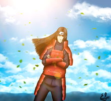 Hashirama - The leaf by EMIxxiiSAN