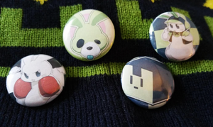 Noiz Pins by Kairui-chan