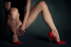 Red shoes by Boas73