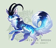 Dragonkit Free Raffle - Winter Brook (CLOSED) by sordid-dessert