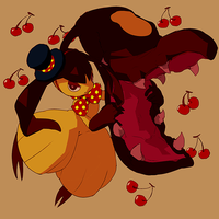 mawile + cherry by HeartGold