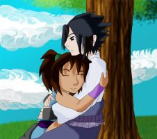 Request: Selina and Sasuke by Labyrinth24