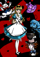 Alice in Wonderland by miakayuki1