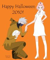 KakaSaku Halloween 2010 by ShipperTrish
