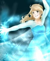 Frozen-HBD me haha by Cami-Cat-Doodles
