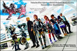 Final Fantasy XIII-2 Promotional Movie Poster by Akarui-no-Sakura