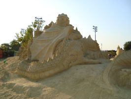 Sand art in burgas 3 by tonev