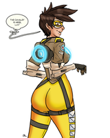 Overwatch - Tracer 02 by theEyZmaster