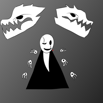 Gaster attempt. by AfterfellChara