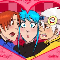 Love-Triangle by Jackce-Art