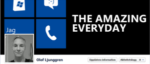 My Lumia Facebook timeline cover by WP7User