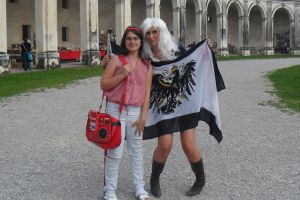 Prussia Female Cosplay and Crazy Girl by HanaCrazy