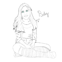Bailey Pose by Washesp