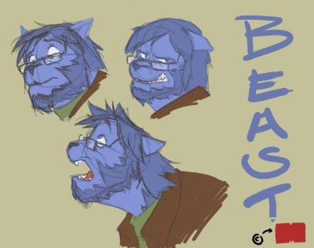 Beastly heads by pmaestro
