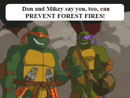 TMNT ST Opening - Prevent Fire by Kaykri76