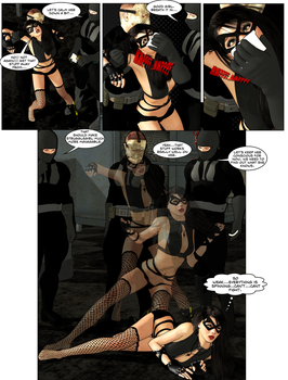 Fightgirl vs the Black Terror Gang - Page 5 by fightgirl2004