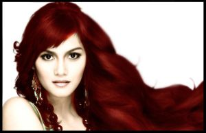 LONG RED HAIR by manblogh