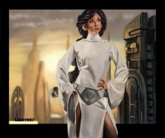 Jedi Princess Jasmine by Leia1987