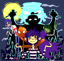 gorillaz by Quuy