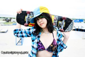Skater girl by WolfGuitar64