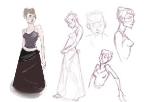 Me. Model sheet by GPinos
