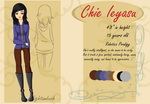 Chie Profile Sheet by Nightambush