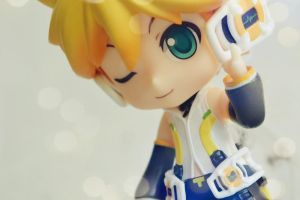 Kagamine Len Nendoroid (Append Version) by EliCavallone