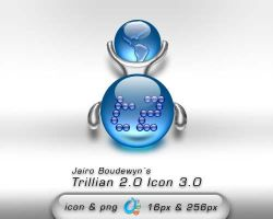 Trillian 2 Icons 3.0 by weboso