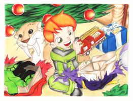 OIOB- first X-mas with Todd by YogurthFrost