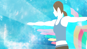 Wii Fit Trainer Smash Attack by david-b-sholl